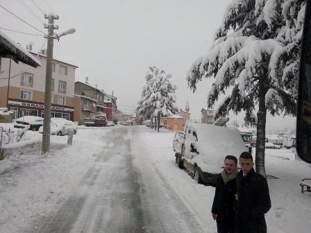 Konya ve çevresinde kartpostallık kar görüntüleri galerisi resim 8
