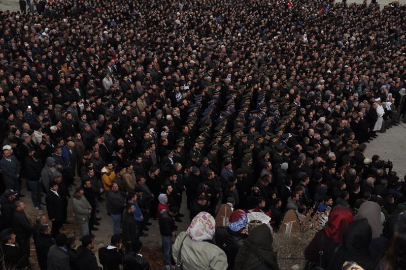 Jandarma Uzman Çavuş Nebi Arslan'a son görev galerisi resim 10