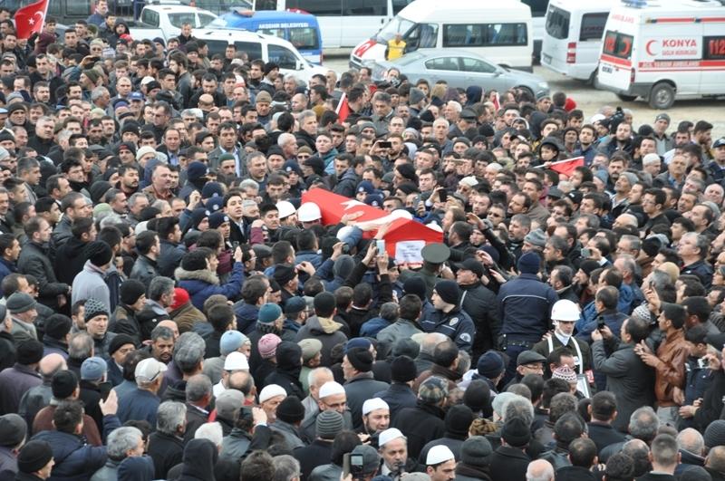 Jandarma Uzman Çavuş Nebi Arslan'a son görev galerisi resim 11