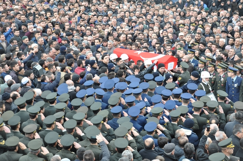 Jandarma Uzman Çavuş Nebi Arslan'a son görev galerisi resim 13