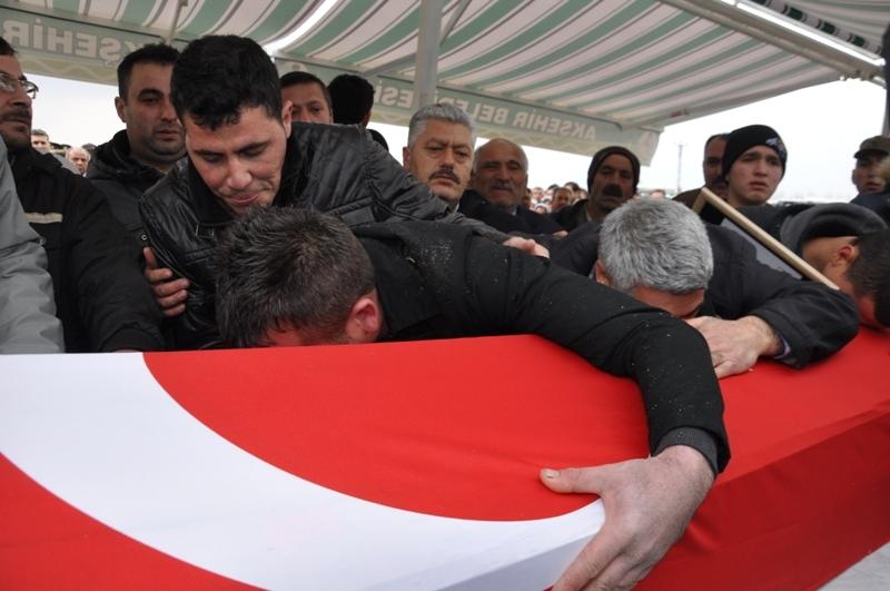 Jandarma Uzman Çavuş Nebi Arslan'a son görev galerisi resim 15