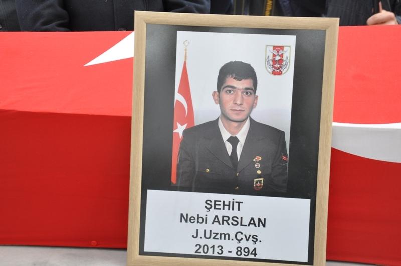 Jandarma Uzman Çavuş Nebi Arslan'a son görev galerisi resim 17