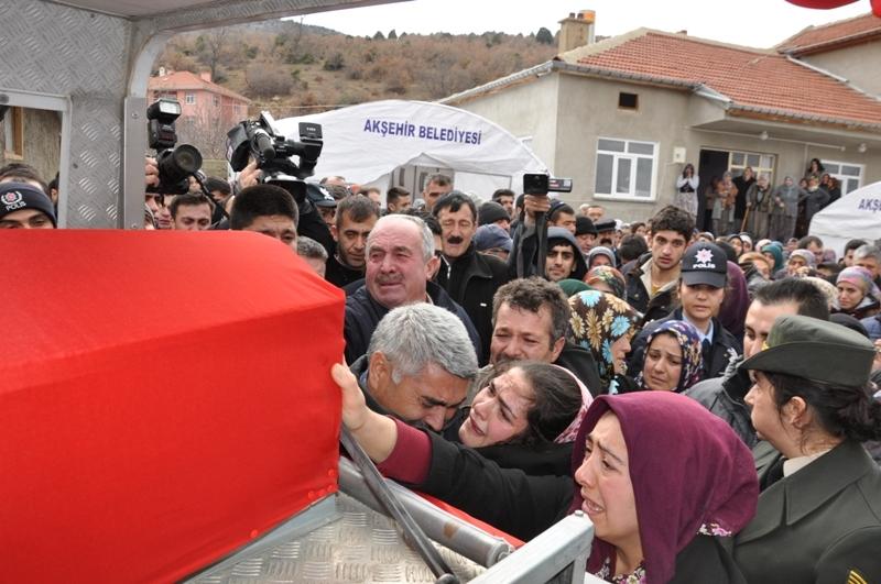 Jandarma Uzman Çavuş Nebi Arslan'a son görev galerisi resim 6