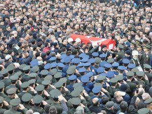 Jandarma Uzman Çavuş Nebi Arslan'a son görev