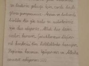 """Diyarbakır Sur'dan haber var """"GELEN MEKTUPLAR GÜÇ VERİYOR"""""""