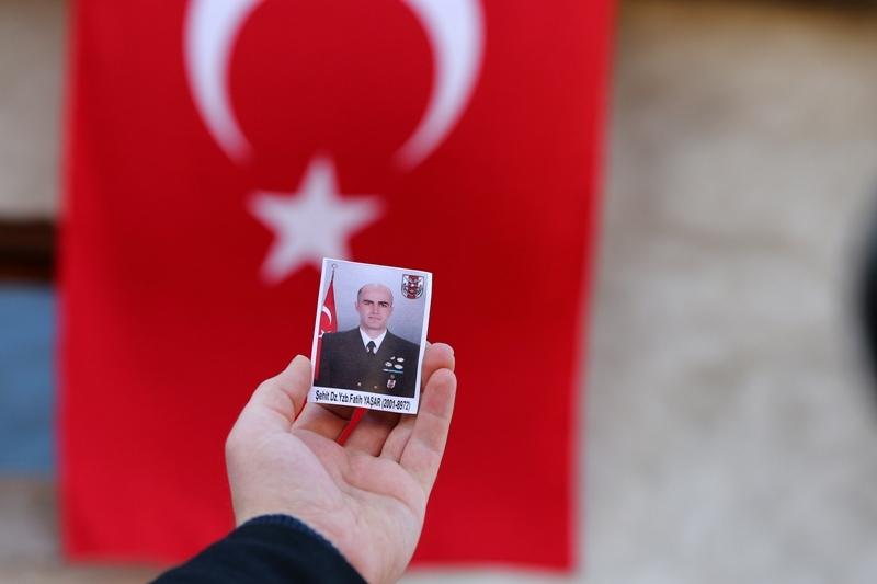 Şht. Deniz Yüzbaşı Fatih Yaşar'a son görev galerisi resim 10
