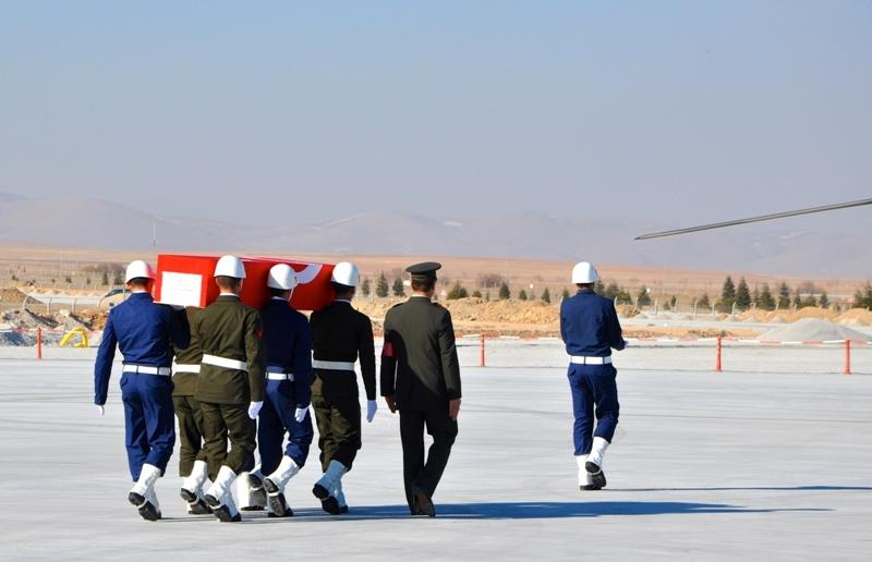 Şht. Deniz Yüzbaşı Fatih Yaşar'a son görev galerisi resim 31