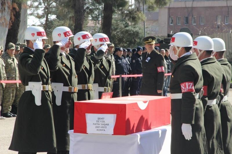 Şht. Deniz Yüzbaşı Fatih Yaşar'a son görev galerisi resim 41