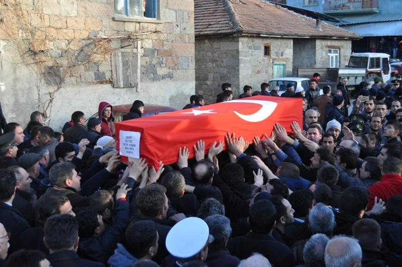 Şht. Deniz Yüzbaşı Fatih Yaşar'a son görev galerisi resim 48