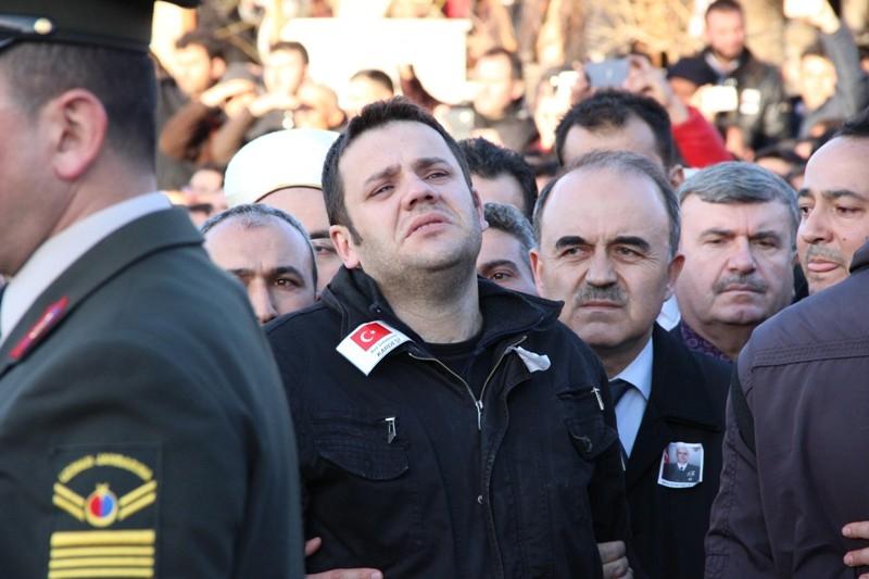 Şht. Deniz Yüzbaşı Fatih Yaşar'a son görev galerisi resim 50