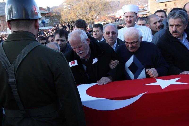 Şht. Deniz Yüzbaşı Fatih Yaşar'a son görev galerisi resim 54
