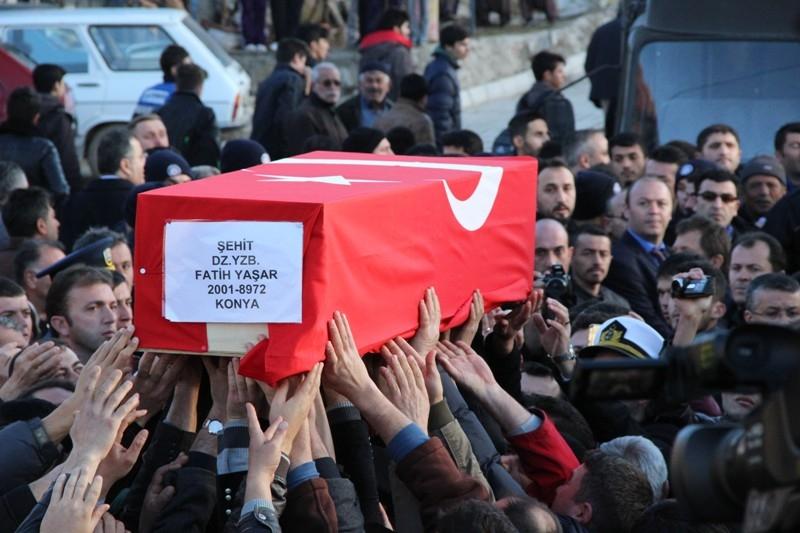 Şht. Deniz Yüzbaşı Fatih Yaşar'a son görev galerisi resim 58
