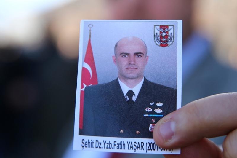 Şht. Deniz Yüzbaşı Fatih Yaşar'a son görev galerisi resim 9