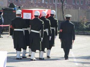 Şht. Deniz Yüzbaşı Fatih Yaşar'a son görev