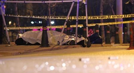 Konya'da iki kişi sokak ortasında öldürüldü galerisi resim 2