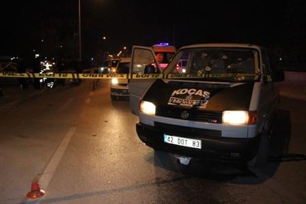 Konya'da iki kişi sokak ortasında öldürüldü galerisi resim 4