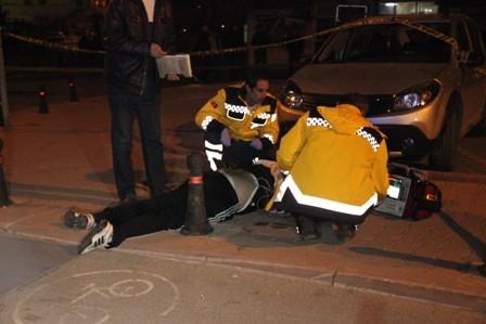 Konya'da iki kişi sokak ortasında öldürüldü galerisi resim 5