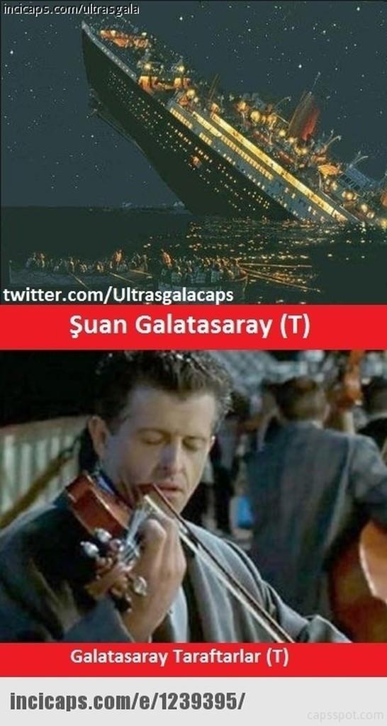 Galatasaray UEFA'dan ceza alınca capsler patladı galerisi resim 2