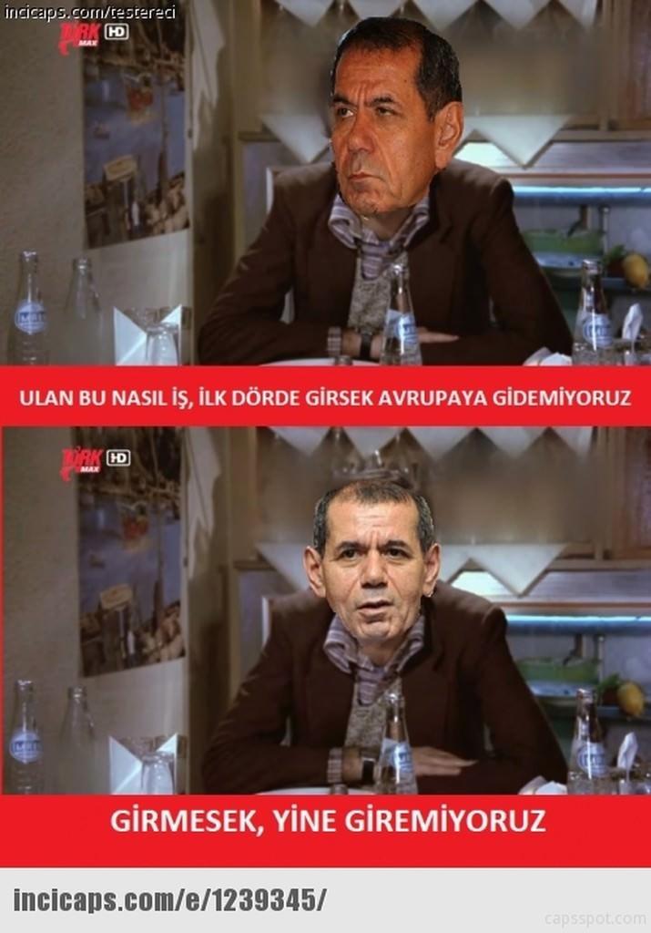 Galatasaray UEFA'dan ceza alınca capsler patladı galerisi resim 3