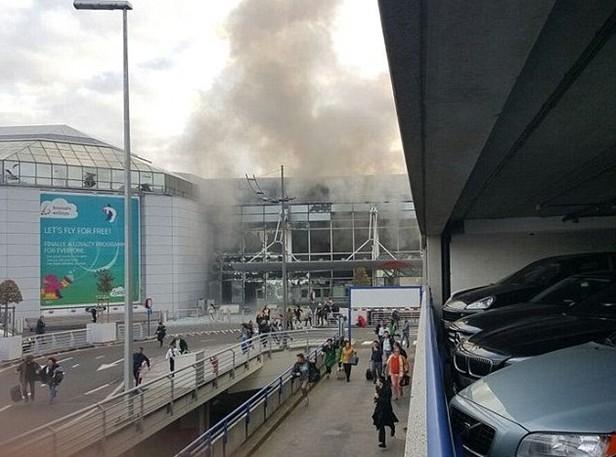 Brüksel patlaması havalimanından ilk fotoğraflar dehşet! galerisi resim 1