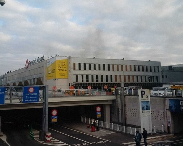 Brüksel patlaması havalimanından ilk fotoğraflar dehşet! galerisi resim 3