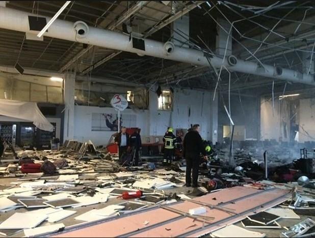 Brüksel patlaması havalimanından ilk fotoğraflar dehşet! galerisi resim 6