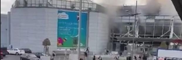 Brüksel patlaması havalimanından ilk fotoğraflar dehşet! galerisi resim 9