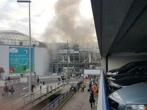Brüksel patlaması havalimanından ilk fotoğraflar dehşet!
