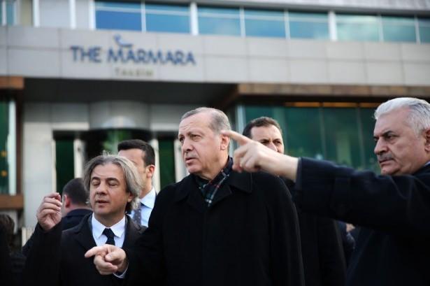 Cumhurbaşkanı Erdoğan Taksim'de galerisi resim 11