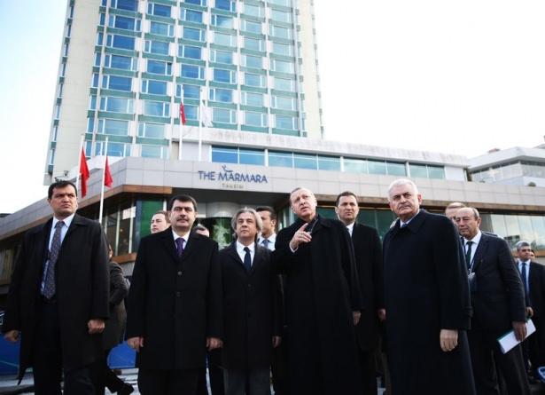 Cumhurbaşkanı Erdoğan Taksim'de galerisi resim 12