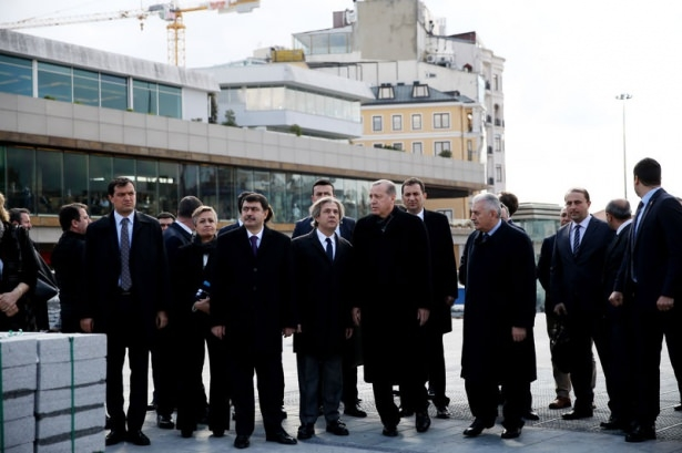 Cumhurbaşkanı Erdoğan Taksim'de galerisi resim 13
