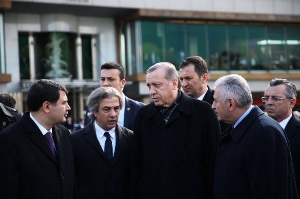 Cumhurbaşkanı Erdoğan Taksim'de galerisi resim 14