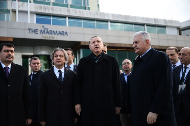 Cumhurbaşkanı Erdoğan Taksim'de galerisi resim 15