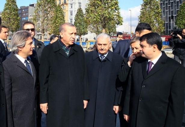Cumhurbaşkanı Erdoğan Taksim'de galerisi resim 23