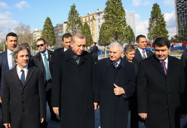 Cumhurbaşkanı Erdoğan Taksim'de galerisi resim 24