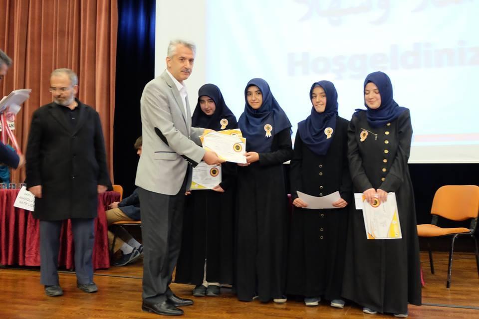 7. Arapça Yarışmaları Konya 2. Bölge finali Yapıldı galerisi resim 3