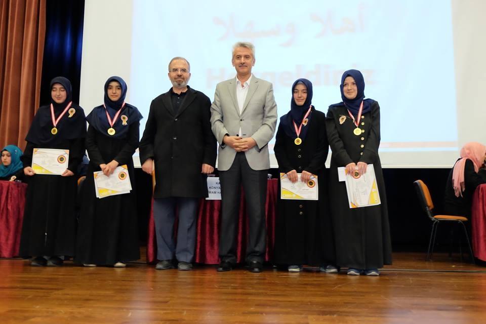 7. Arapça Yarışmaları Konya 2. Bölge finali Yapıldı galerisi resim 6