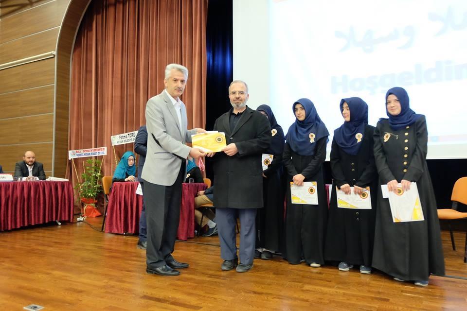 7. Arapça Yarışmaları Konya 2. Bölge finali Yapıldı galerisi resim 7