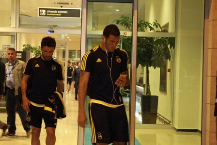 Fenerbahçe kafilesi Konya'ya geldi galerisi resim 4