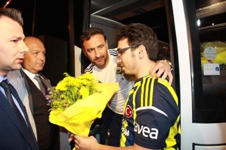 Fenerbahçe kafilesi Konya'ya geldi galerisi resim 6