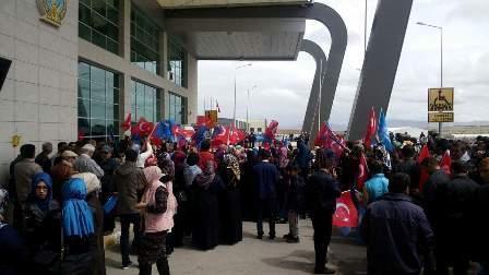 Konya'da Davutoğlu'na büyük karşılama galerisi resim 1