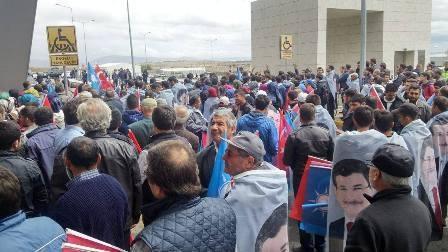 Konya'da Davutoğlu'na büyük karşılama galerisi resim 14