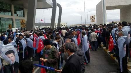 Konya'da Davutoğlu'na büyük karşılama galerisi resim 2