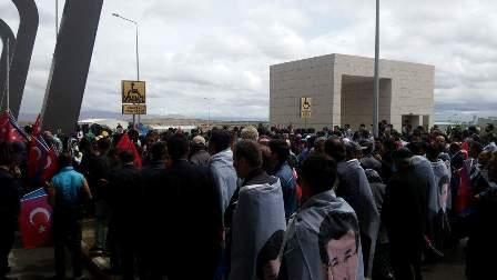 Konya'da Davutoğlu'na büyük karşılama galerisi resim 9