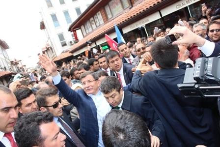 Ahmet Davutoğlu'nun Konya ziyaretinden kareler galerisi resim 10