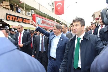Ahmet Davutoğlu'nun Konya ziyaretinden kareler galerisi resim 11
