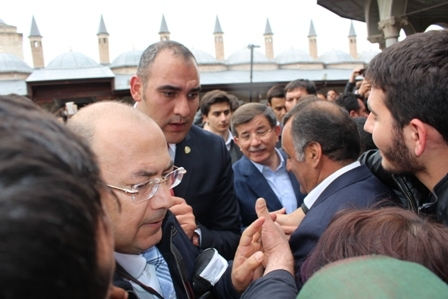 Ahmet Davutoğlu'nun Konya ziyaretinden kareler galerisi resim 12