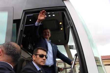 Ahmet Davutoğlu'nun Konya ziyaretinden kareler galerisi resim 16