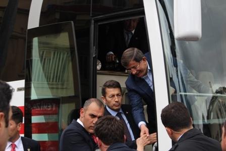 Ahmet Davutoğlu'nun Konya ziyaretinden kareler galerisi resim 19