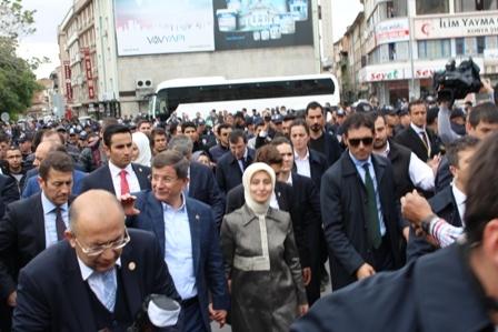 Ahmet Davutoğlu'nun Konya ziyaretinden kareler galerisi resim 21